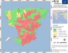Dr. Maria Doula Land Suitability Map of Aegina island, Greece, for the distribution of solid pistachio waste as per soil exchangeable Potassium content (LIFE-AgroStrat)
