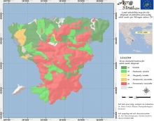 Dr. Maria Doula Land Suitability Map of Aegina island, Greece, for the distribution of solid pistachio waste as per soil total Nitrogen content (LIFE-AgroStrat)