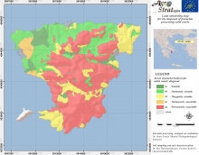 Dr. Maria Doula Land Suitability Map of Aegina island, Greece, for the distribution of solid pistachio waste. (LIFE-AgroStrat)