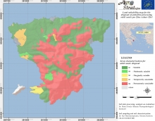 Dr. M.K. DoulaLand Suitability Map of Aegina island, Greece, for the distribution of solid pistachio waste as per soil available Zinc content (LIFE-AgroStrat)