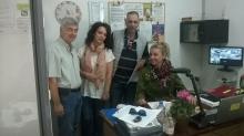 Association of Pistachio Producers of Makri, Fthiotida (Mr. S. Gallis, Dr. M. Doula, Mr. M. Mpourgos, Ms. V. Zerva)