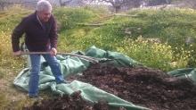 Agrostrat Κομποστοποίηση στην Αίγινα-Μάρτιος 2017