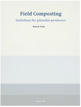 field composting, pistachio wastes, Agrostrat, guidelines, farmers
